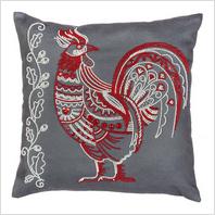Набор для вышивания бисером и пайетками ''Декоративная подушка