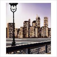 """Набор для вышивания """"Манхеттенская мечта, триптих, ч.1"""""""