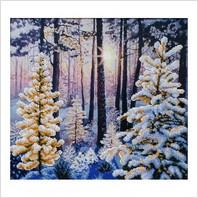"""Набор для вышивания """"Зимний рассвет"""""""