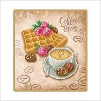 """Набор для вышивания """"Вафли к кофе"""""""