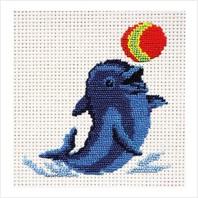 """Набор для вышивания ''Дельфинчик"""""""