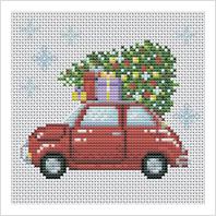 Набор для вышивания ''Рождественские каникулы