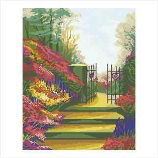 """Цветная схема """"Ворота любви"""""""