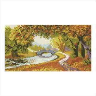 """Цветная схема """"Осеннее золото"""""""