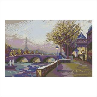 """Цветная схема """"Вечер в Париже"""""""