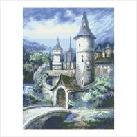 """Цветная схема """"Старинный замок"""""""