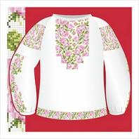 """Цветная схема """"Женская сорочка-вышиванка"""""""
