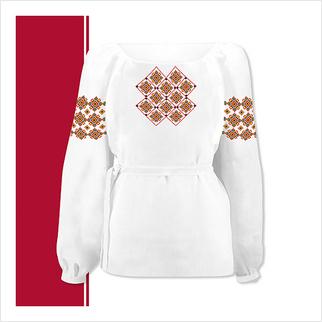 Набор текстиля сорочки-вышиванки для девочки (размер 36-44)