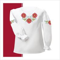 Набор текстиля сорочки-вышиванки для девочки (размер 26-28)