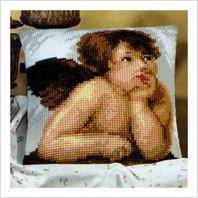 """Подушка для вышивки ''Ангелочек"""""""