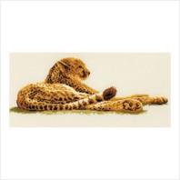 """Набор для вышивания ''Леопард"""""""