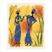 """Набор для вышивания ''Африканские мелодии"""""""