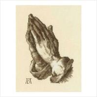 """Набор для вышивания ''Сложенные в молитве руки"""""""