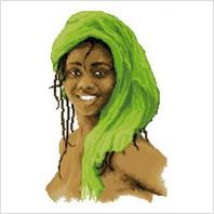 Набор для вышивания ''Леди в зеленом