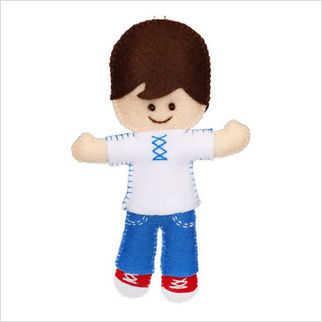 "Набор с фетром ''Декоративная игрушка ""Кукла"""