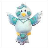 Набор с фетром ''Голубь