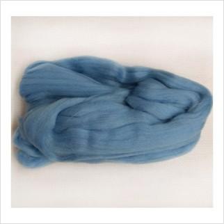 Шерсть для валяния, цвет голубой