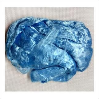 Вискоза для валяния, цвет светло-голубой