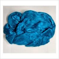 Вискоза для валяния, цвет морская волна