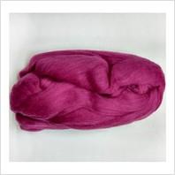 Шерсть для валяния, цвет брусника