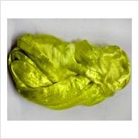 Вискоза для валяния, цвет лимон