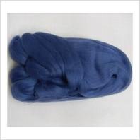 Шерсть для валяния, цвет синий