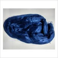 Вискоза для валяния, цвет синий