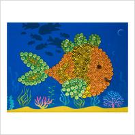 Набор с пайетками и пинсами ''Рыбка