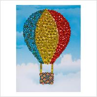 """Набор с пайетками и пинсами ''Воздушный шар"""""""