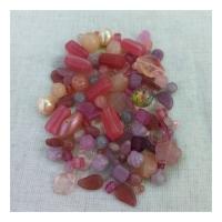 Мікс намистин Pink 0100