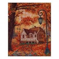 """Набір для вишивання """"Барвиста осінь"""""""