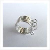 Основа для кольца (серебристая)