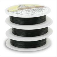 Ювелирный тросик Ø 0.30 мм (черный)