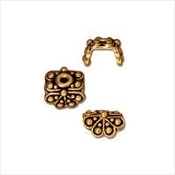 Обниматель для бусин раджа (античное золото)