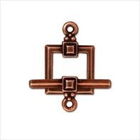 Тоггл квадрат декор (античная медь)