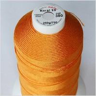 Летняя пряжа (нитки) Корал 10, цвет 380
