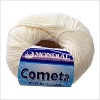 Пряжа Cometa (молочная)