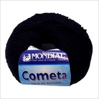 Пряжа Cometa (черная)