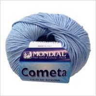 Пряжа Cometa (небесно-голубая)