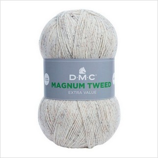 Пряжа Magnum Tweed, цвет белый