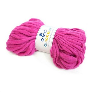Пряжа Quick Knit, цвет розовый