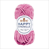 Пряжа Happy Chenille для амигуруми, цвет 24