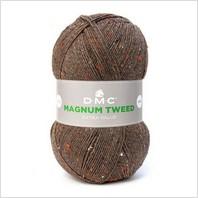Пряжа Magnum Tweed, цвет коричневый