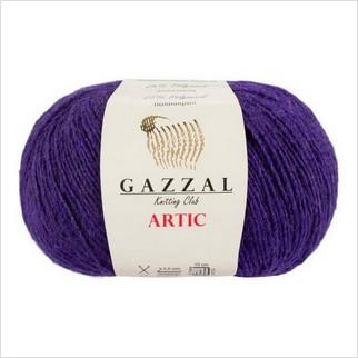 Пряжа Artic, цвет фиолетовый