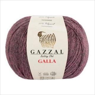 Пряжа Galla, цвет темно-фиолетовый