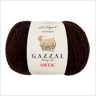 Пряжа Artic, цвет коричневый