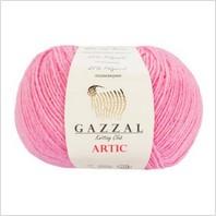 Пряжа Artic, цвет розовый