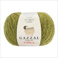 Пряжа Galla, цвет болотный