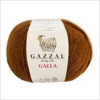 Пряжа Galla, цвет коричневый