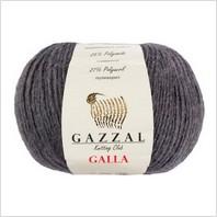 Пряжа Galla, цвет серый